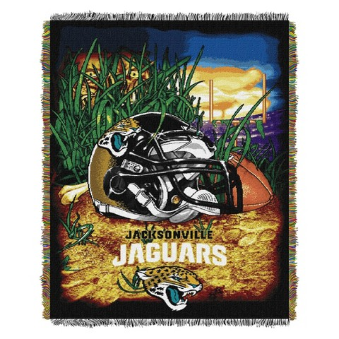 Jacksonville Jaguars Woven Tapestry Throw