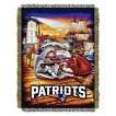New England Patriots Woven Tapestry Throw