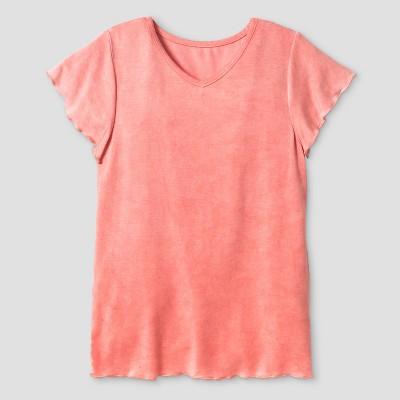 Orange And White Shirt
