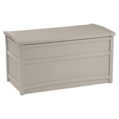 Suncast Deck Box Taupe - 50 Gallon