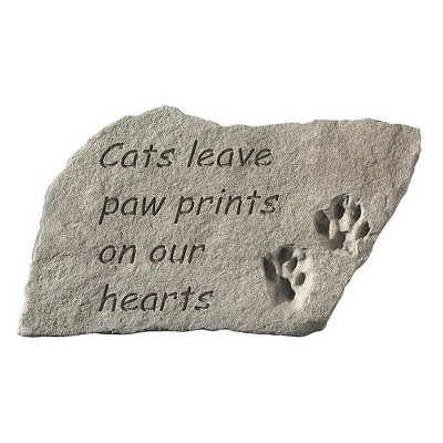 Cat Lover's Garden Stone