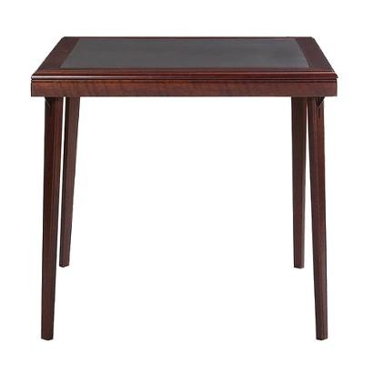 Cosco Folding Table - Mahogany Finish