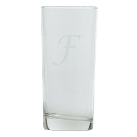 Script Monogram Highball Set of 4