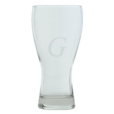 ECOM Block Monogram Beer Mug Set of 4 - G