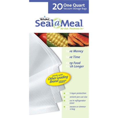 Seal-A-Meal 1-qt. Bags - 20-ct.