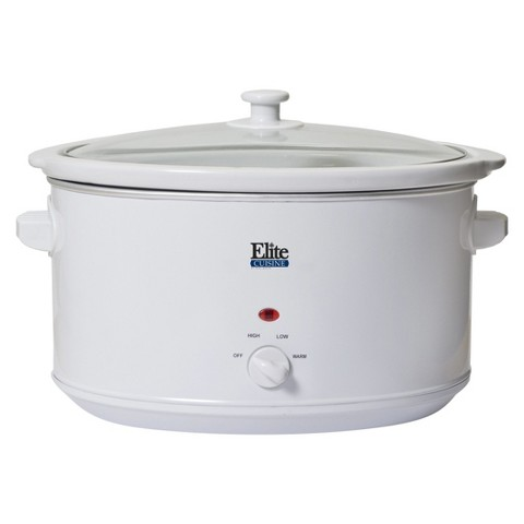 Elite Cuisine 8.5 Quart Slow Cooker
