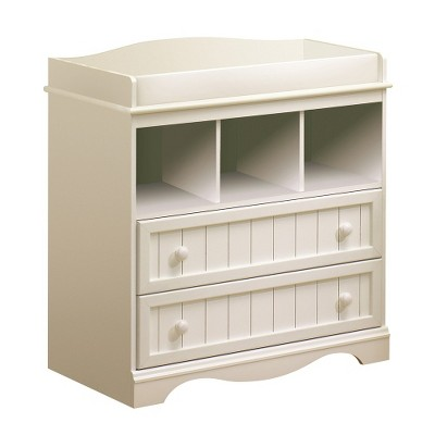 South Shore Savannah Changing Table-True White