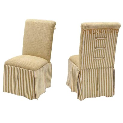 4D Concepts Skirted Parsons Chair
