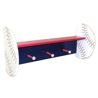 Baseball Wall Shelf