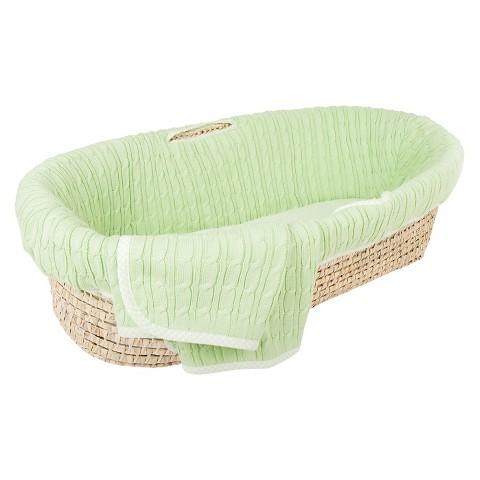 Tadpoles Basic Baby Moses Basket Set