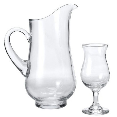 Sangria Glass and Pitcher 7-pc. Set