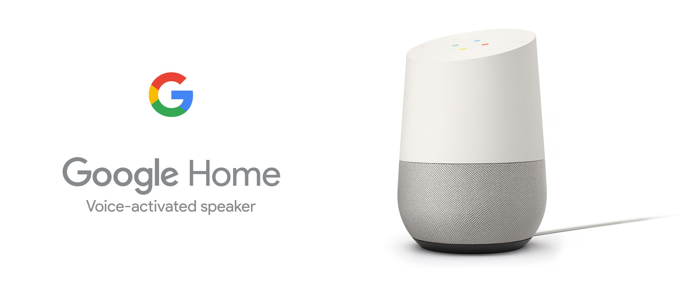 Google Home Assistant Voice Activated Speaker