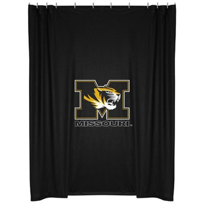 Missouri Tigers Shower Curtain