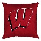 Wisconsin Badger Locker Room Pillow