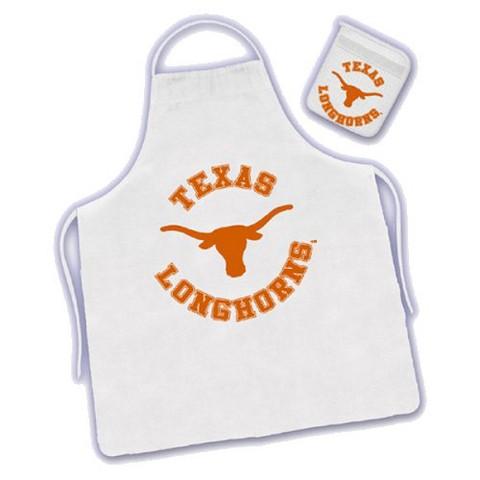 Texas Longhornes Apron & Mitt Set