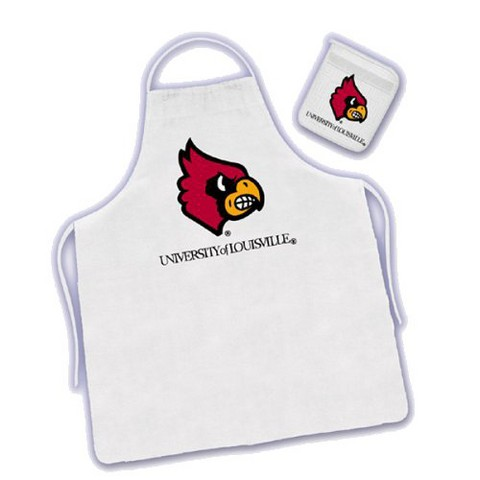 Louisville Cardinals Apron & Mitt Set
