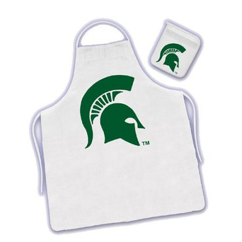 Michigan State Apron & Mitt Set