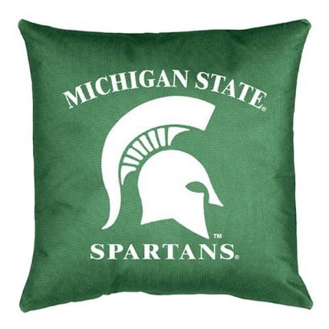 Michigan State Locker Room Pillow