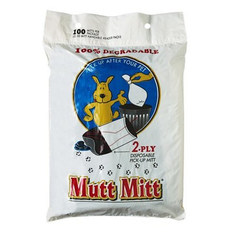 Mutt Mitt 2-Ply Disposable Pick-Up Mitts 100-pk.