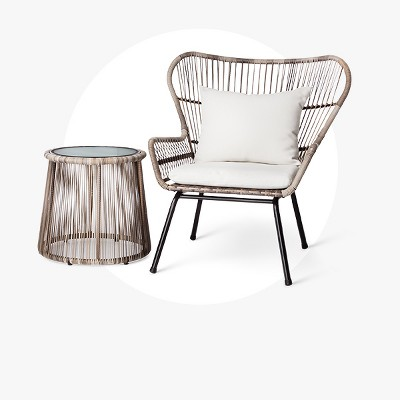 Courtyard Creations Patio Furniture #28: Small-space Sets With Big-time Style