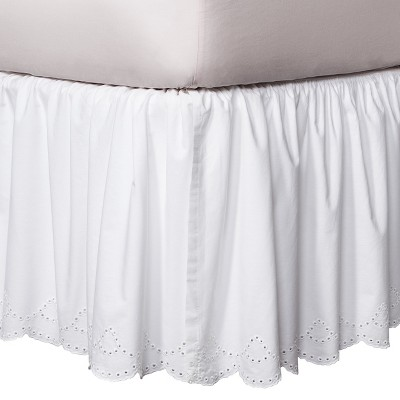 Bed Skirts Update your bedroom with a new bed skirt! Choose from a variety of colors and styles.