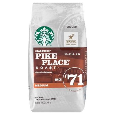 Starbucks Ground/Whole Bean Coffee