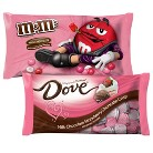 M&M's or Dove Chocolate