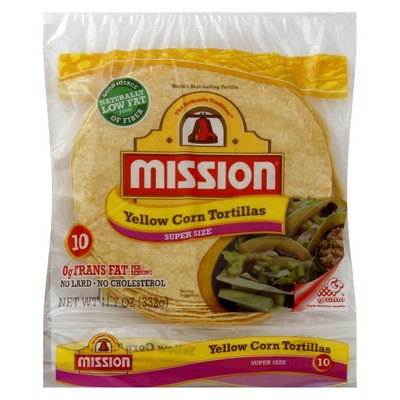 Mission Small Corn Tortillas Valid only on CornTortillas less than 16oz