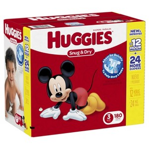 All Huggies Boxed Diapers