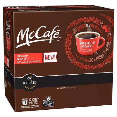 McCafe Coffee Pods Bring home the great McDonalds taste you love!