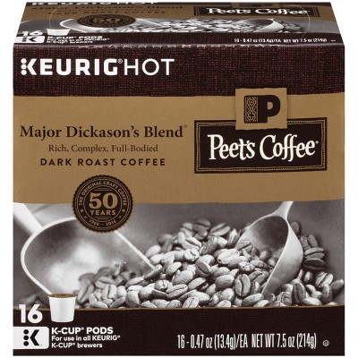 Peet's Coffee K-Cup Packs