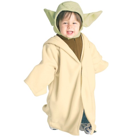 Toddler Star Wars - Yoda Fleece Costume
