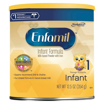 Baby Formula: Enfamil Infant Formula