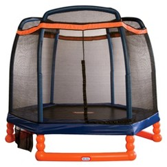 Little Tikes Trampoline with Enclosure - 7'
