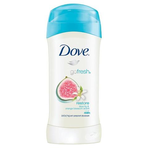 Dove restore antiperspirant deoderant