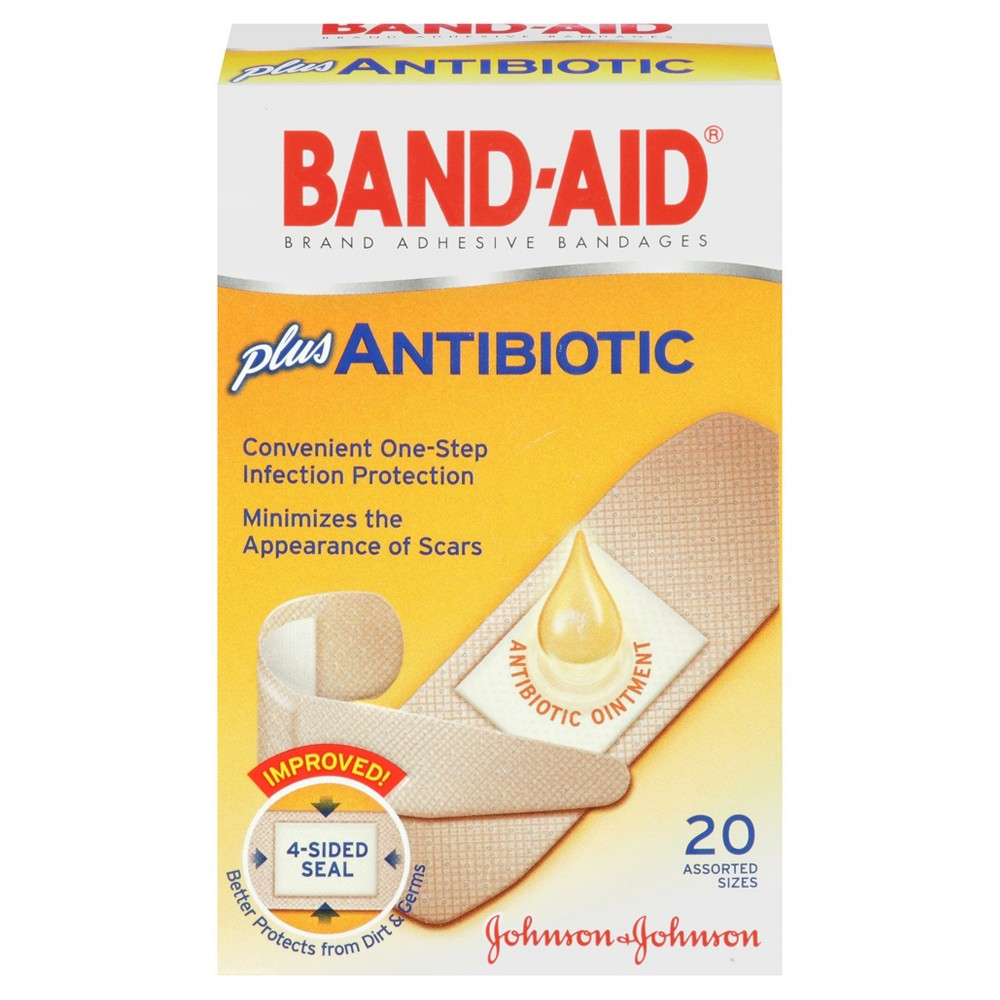 Bandages & Gauze: Band-Aid with Neosporin