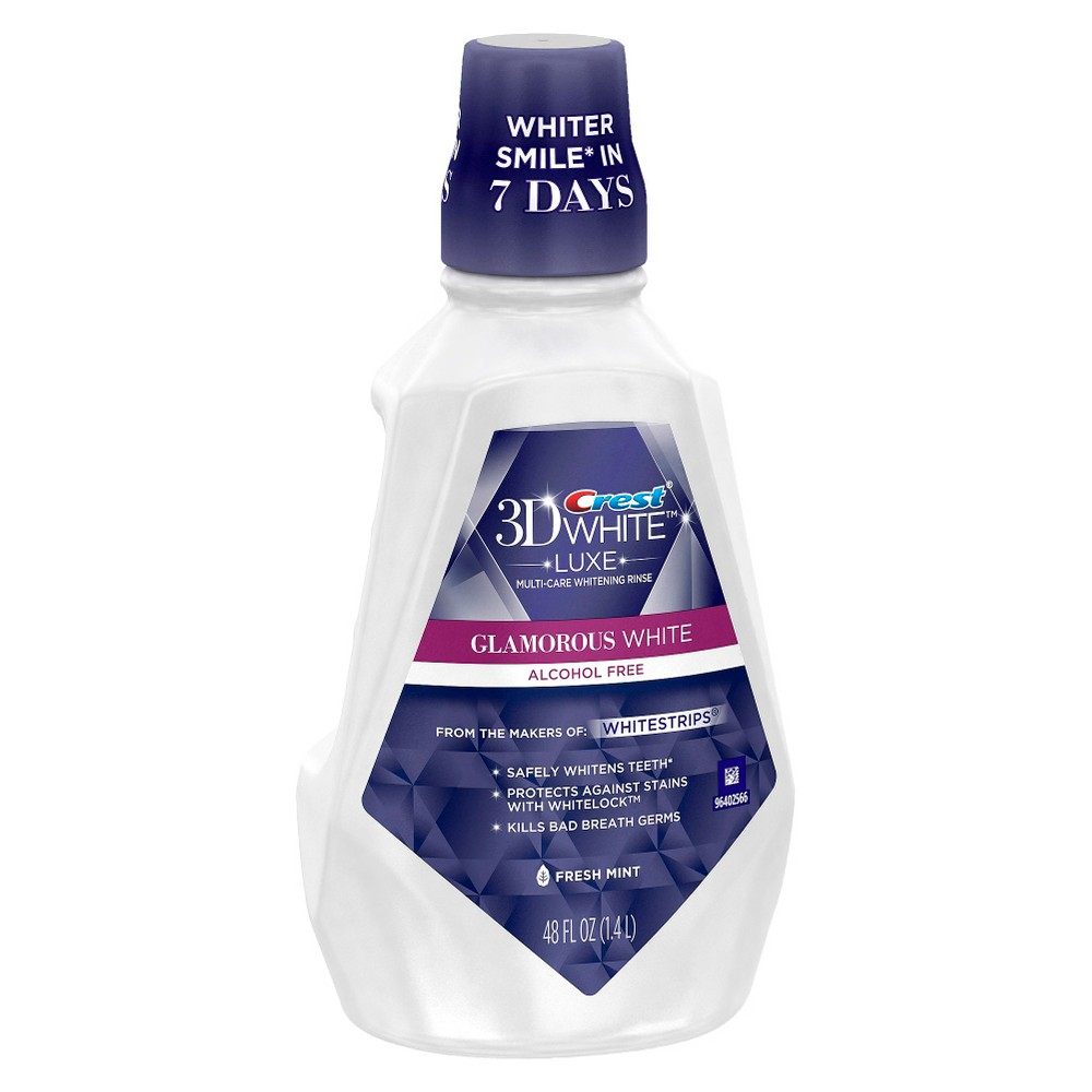 Mouthwash: Crest 3D White Luxe Glamorous