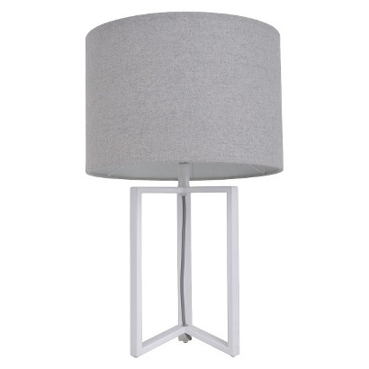 Room Essentials™ Wishbone Table Lamp w Heather Shade