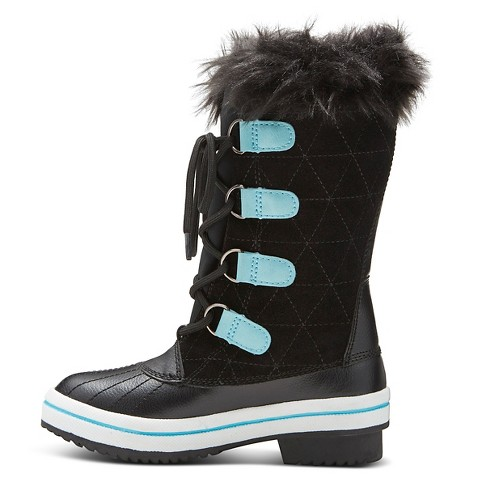 Girl's Nadia Winter Boots - Black