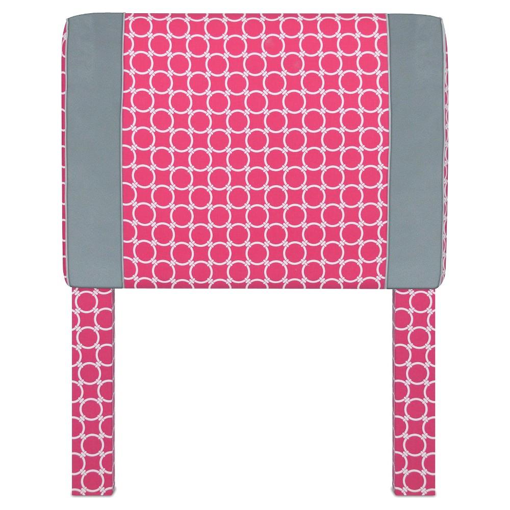Twin Candy Pink Headboard