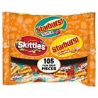 44.17 Oz Skittles Starburst Mix 105 Ct