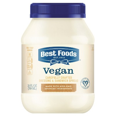 Best Foods Vegan Dressing and Sandwich Spread Carefully Crafted - 24oz
