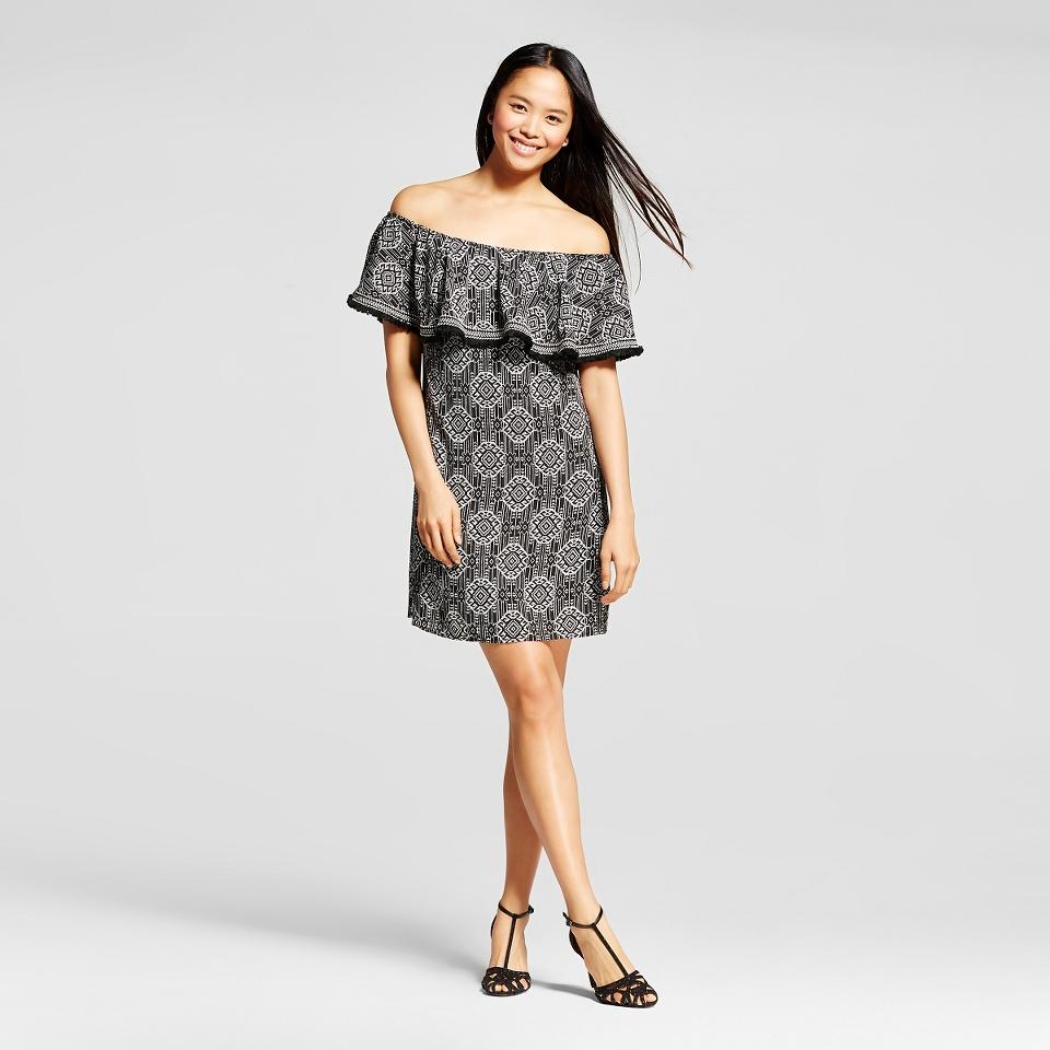 Womens Off the Shoulder Dress Print   Xhilaration™ (Juniors