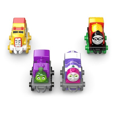 Thomas & Friends MINIS DC Super Friends Collectible Characters 4-Pack