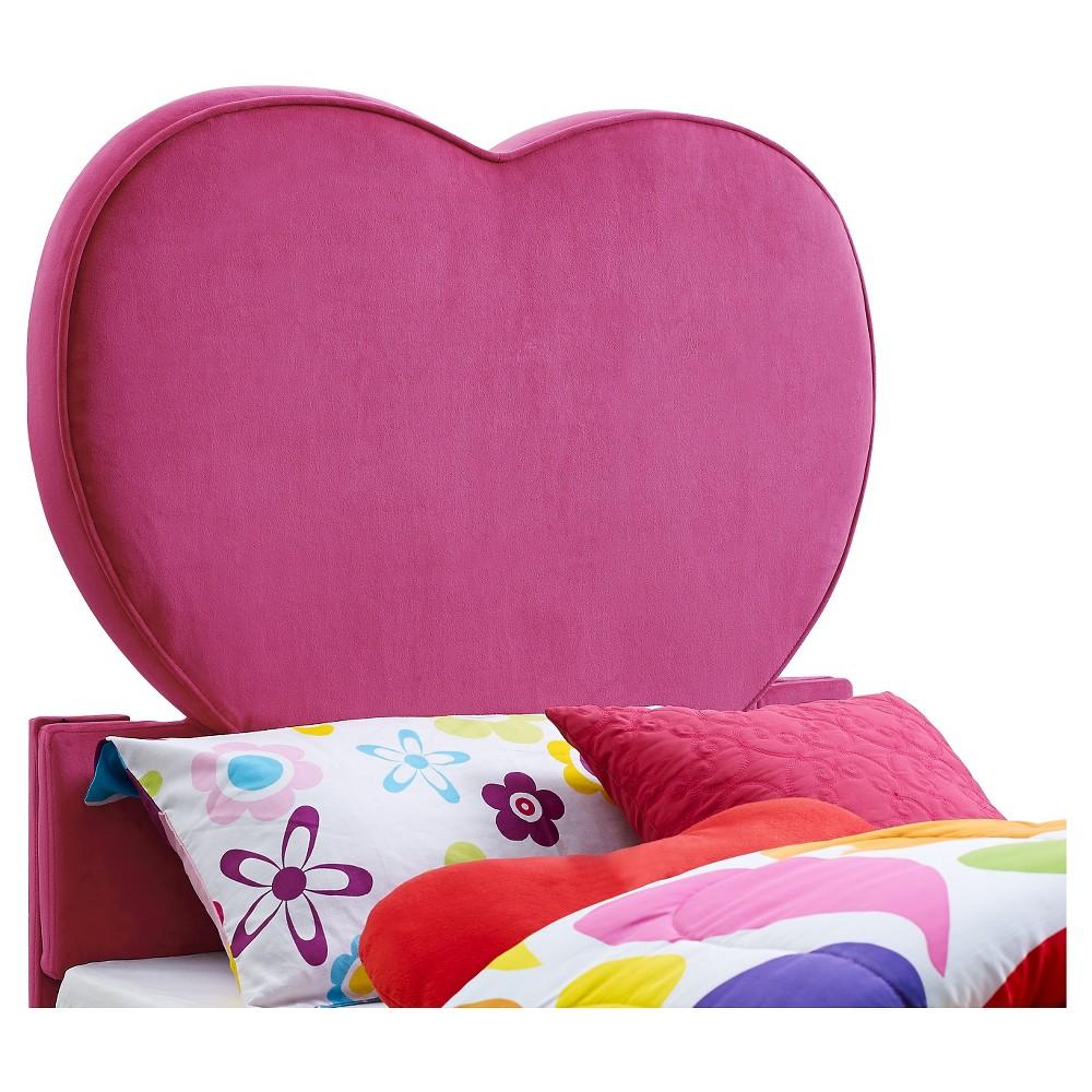 Pink Heart Headboard