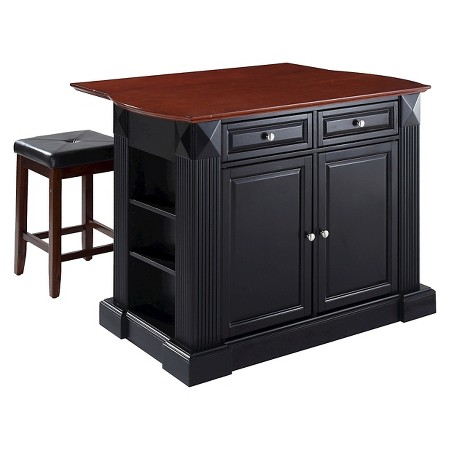 target kitchen island drop leaf breakfast bar top kitchen island with stools 167