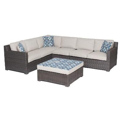 Hanover Outdoor Metropolitan 5-Piece Lounge Set